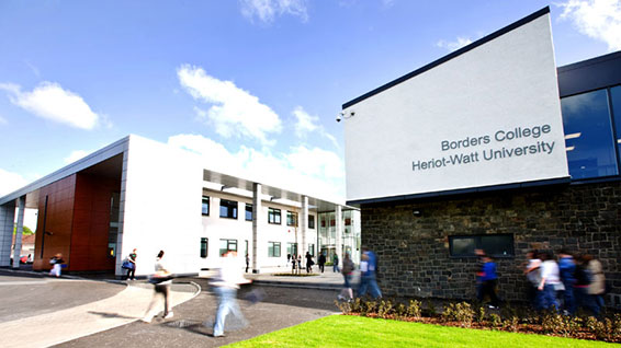 Scottish Borders Campus entrance