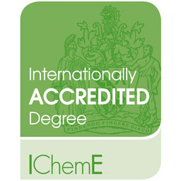 Heriot-Watt University's Chemical Engineering programme is an internationally accredited degree by IChemE