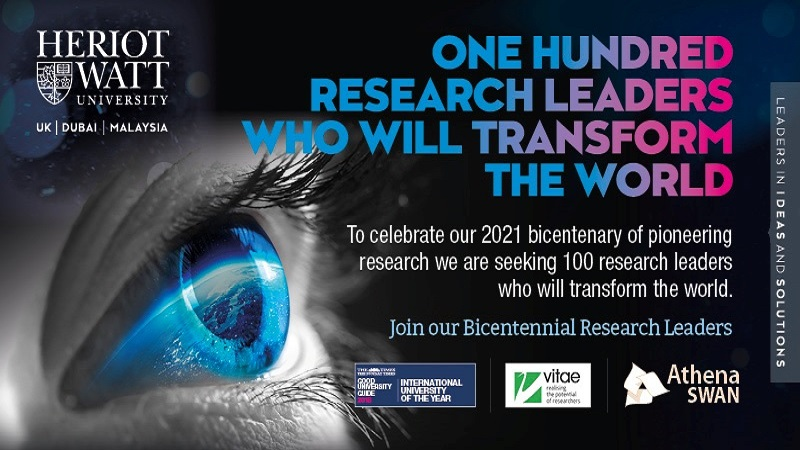 One hundred research leaders who will transform the world
