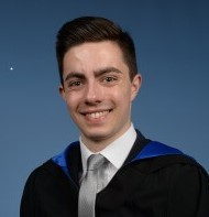 Jamie Smith, graduating in Geography, Society and Environment
