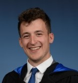 Mathew Walker, graduating with a BSc (Hons) in Marine Biology