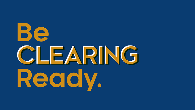 Be Clearing ready graphic