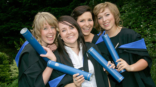 2012 summer graduations: Scottish Borders Campus
