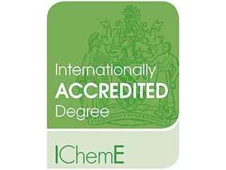 Institution of Chemical Engineers internationally accredited degree logo
