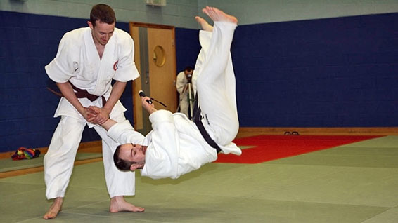 The Heriot-Watt University Karate team is the first to win three consecutive gold medals in the British Universities & Colleges Sport Karate Championships