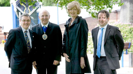 City of London Lord Mayor visits Scottish Financial Risk Academy