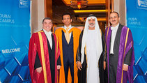 International Educationalist Honoured at Heriot-Watt Dubai Graduation Ceremony
