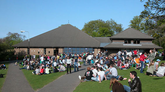 Heriot-Watt University Student Union's annual Beer Festival