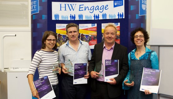 Principal's prizewinners for public engagement 2013