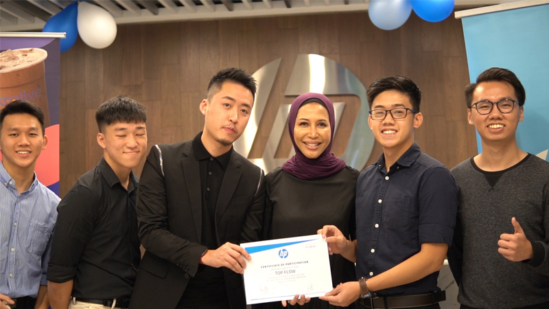 Creating the Future: Heriot-Watt University Malaysia Student Recognised As Top Three Finalist in HP Inc. Malaysia's University Challenge