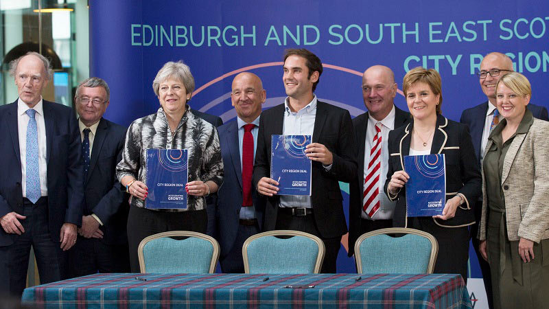 Heriot-Watt part of historic 1.3bn Edinburgh and South-East City Region Deal