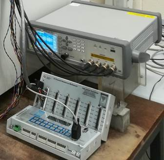 Virtual instrument machine for frequency sweep measurements
