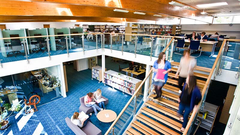 Scottish Borders Campus library